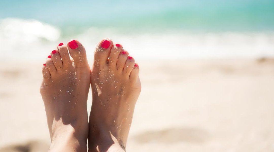 En verano, cuida de tus pies