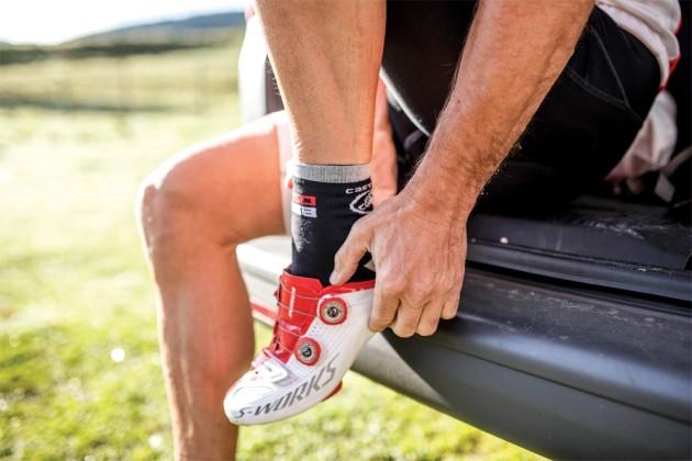 Ciclista: ¿Cuidas tus pies?